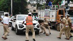Bharat Bandh: बेंगलुरु में ड्यूटी के दौरान बाल-बाल बचे DCP धर्मेंद्र मीणा, पैर पर चढ़ी प्रदर्शनकारी की SUV