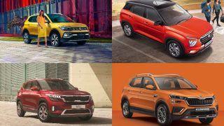 Volkswagen Taigun vs Hyundai Creta vs Kia Seltos vs Skoda Kushaq: Price Comparison