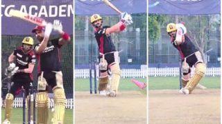 IPL 2021: Virat Kohli in Ominous Form in RCB Net Session Ahead of RR Game in Dubai | WATCH VIDEO