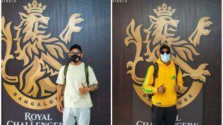 King Kohli & Miyan Magic Arrive! RCB Stars Land in Dubai | PICS