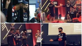 'About Accepting it' - Kohli's Brilliant Pep Talk to RCB Players is GOLD | WATCH