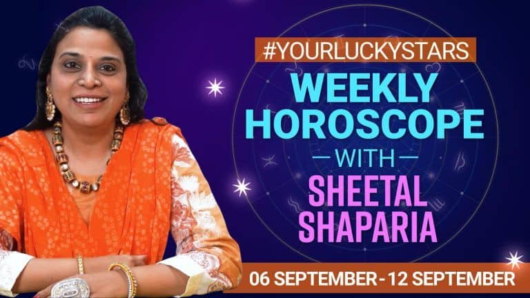 Weekly Horoscope 06 to 12 September 2021: Know What Future Brings For You This Week ! Watch Video