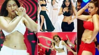 Do Ghoont Song Out: Nia Sharma's Steaming Hot Version of Golden Era Melody; Watch Her Killer Moves