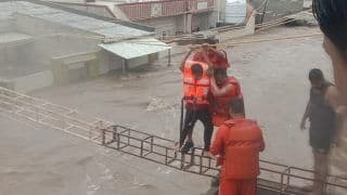 Heavy Rains Lash Parts of Gujarat, Locals Airlifted to Safer Locations in Jamnagar