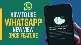 Latest WhatsApp Update: WhatsApp Launches View Once Feature, Know How To Use It | Tech Reveal