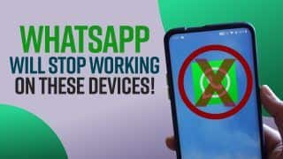 WhatsApp To Stop Working On These Devices From 1st November ? Here's All You Need To Know