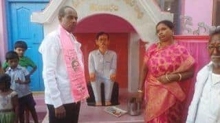 Telangana Man Who Built KCR Temple Puts it on Sale to Repay Loans, Says He Lost Reverence For Him