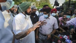 Came To Vacate Kapurthala House, Will Not Meet Any Political Leader: Amarinder After Reaching Delhi