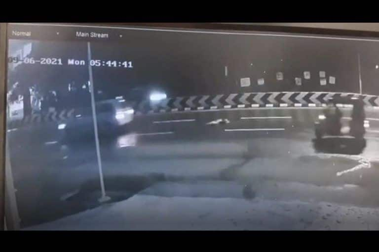 Coimbatore: Body of Woman Thrown Out of Moving SUV, Caught on Camera