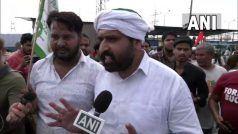 दिल्ली कांग्रेस अध्यक्ष अनिल चौधरी से किसानों ने कहा-उठिये, यहां से जाईए, हमारे बीच आपका क्या काम