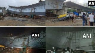 Mumbai: बांद्रा-कुंर्ला कॉम्पलेक्स में निर्माणाधीन फ्लाईओवर ढहा, 14 लोग घायल