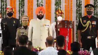 Lt General Gurmit Singh Sworn in as Governor of Uttarakhand