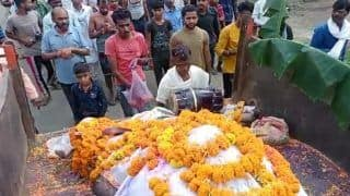 MP Villagers Hold Funeral Procession For Bull Revered as Nandi Baba, Perform Last Rites