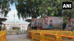 कन्हैया कुमार के स्वागत को तैयार कांग्रेस कार्यकर्ता, पार्टी मुख्यालय के बाहर लगाए पोस्टर
