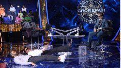 KBC 13: Suniel Shetty-Jackie Shroff के स्टेज पर लेटकर दिखाई अपनी फिटनेस, हॉट सीट पर बैठकर देखते रहे अमिताभ बच्चन