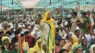 Kisan Mahapanchayat Ends on High Note, Farmers Call For Bharat Bandh on September 27 | Top Developments
