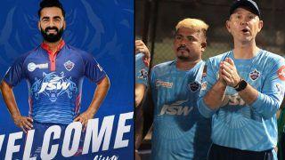 IPL 2021: टूर्नामेंट से पहले Delhi Capitals को झटका, चोटिल होकर यह खिलाड़ी हुआ बाहर, Kulwant Khejroliya टीम में