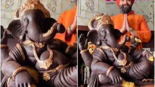 Ganesh Chaturthi 2021: 10 Chefs Create Chocolate Ganesh Idol Weighing Over 200 kg   Watch