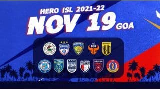ISL 2021-22: ISL Announce Fixture of First Round of Matches, Match Timings, Teams and Venues