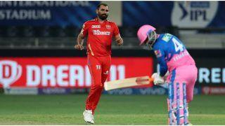 IPL 2021, PBKS vs RR: Mohammed Shami Takes 50 Scalps for Punjab Kings