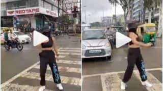 Viral Video: Instagram Influencer Dances in Middle of The Road For a Dare, Cops Issue Notice For Violating Rules | Watch