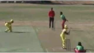 Cameroonian Pacer Hogs Limelight by Mankading 4 Batswoman