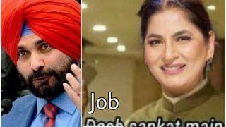 Hilarious Memes Flood Twitter As Navjot Singh Sidhu Quits as Punjab Congress Chief | 13 Best Tweets