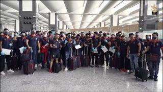 RCB Arrive in UAE For Second Leg of IPL 2021
