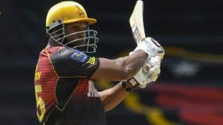 TKR vs GAW Match Highlights CPL 2021 T20: Romario Shepherd Powers Guyana Amazon Warriors to a Thrilling Win Over Trinbago Knight Riders in Super Over