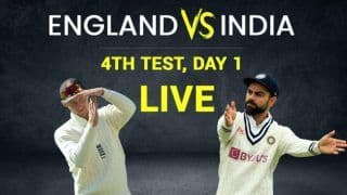 India vs England Match Highlights 4th Test Day 1 Updates: India End Day on Top With Joe Root's Wicket
