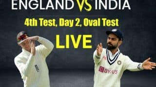 India vs England Match Highlights 4th Test Day 2 Updates: Rohit, Rahul Solid as India Trail by 56 Runs at Stumps