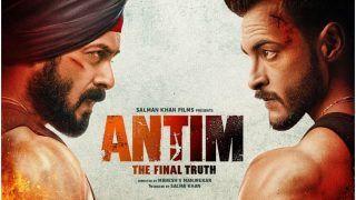 Antim First Poster: Salman Khan and Aayush Sharma Impress Everyone With Their Fierce Look, Fans Say 'Kadakkk'