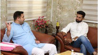 बिहार: चिराग पासवान और तेजस्वी यादव मिले, कहा- 'दोनों परिवारों में पारिवारिक संबंध'