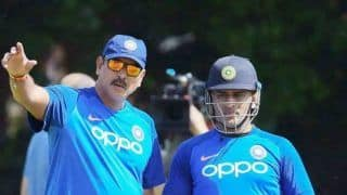 Having MS Dhoni in Dressing Room Will Be Huge Shot in Arm For Boys in T20 WC: Ravi Shastri