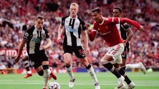 Manchester United vs Newcastle Match Highlights Premier League Updates: MUN 4-1 NEW, Cristiano Ronaldo Scores Brace as United Move to Top of Table