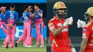 IPL 2021 Points Table After PBKS vs RR: Rajasthan Royals Jump to Fifth Spot; KL Rahul Grabs Orange Cap