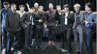 BTS X Coldplay: K-Pop Members Gift Purple Casual Hanbok To Chris Martin, Leaves ARMY In Complete Awe | See Pic