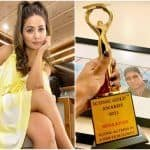Hina Khan Dedicates Her 'Iconic Actress Award' To Late Father: 'You Made It Possible'