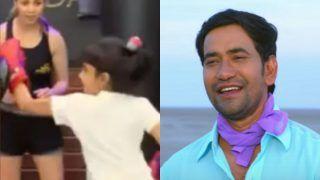 Dinesh Lal Yadav की बेटी बन गई है बॉक्सर! Nirahua की लाडली का तेवर होश उड़ा देगा, नहीं यकीन तो देखें VIDEO