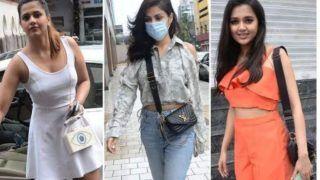 Bigg Boss 15: Rhea Chakraborty to Enter Salman Khan's Show? Actor Spotted With Tejasswi Prakash at Same Studio