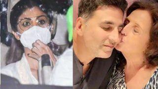 मां के निधन से टूटे अक्षय कुमार, तो मिलने पहुंची दोस्त Shilpa Shetty...तस्वीरें हो रही हैं वायरल