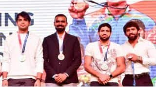 Gold Medalist Neeraj Chopra and Other Tokyo Olympics Participants Felicitated By JSW Sports