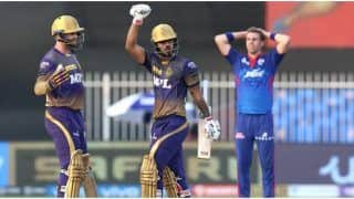 IPL 2021 Match Report: Nitish Rana and Sunil Narine Shine in Kolkata's 3- Wicket Win Over Delhi Capitals