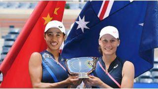 Samantha Stosur-Zhang Shuai Pair Clinches US Open Women's Doubles Title