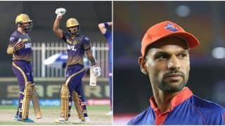IPL 2021 Points Table Today Latest After KKR vs DC, Match 41: CSK Remain at No.1 Spot, Shikhar Dhawan Replaces Sanju Samson in Orange Cap Bragging Rights