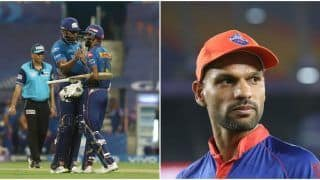 IPL 2021 Points Table Today Latest After MI vs PBKS, Match 42: CSK Remain at No.1 Spot, Shikhar Dhawan Replaces Sanju Samson in Orange Cap Bragging Rights
