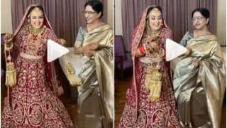 Viral Video: Adorable Bride Dances With Her Mother Before The Wedding, People Call it Cute   Watch