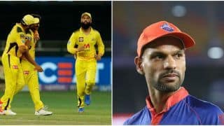 IPL 2021 Points Table Today Latest After MI vs CSK, Match 30: Chennai Super Kings Claim No.1 Spot After Win Over Mumbai Indians; Shikhar Dhawan, Harshal Patel Still in Lead in IPL Orange Cap, Purple Cap List