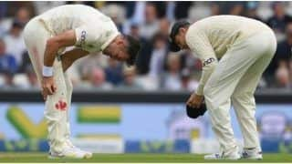 IND vs ENG 4th Test: James Anderson Continues to Bowl Despite a Bleeding Knee