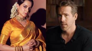 Kangana Ranaut Reacts To Ryan Reynolds' 'Hollywood Mimicking Bollywood' Remark, Here's What She Has To Say